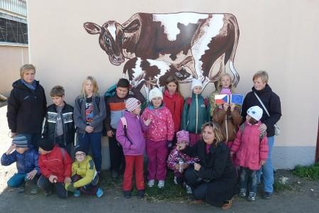 Návštěva kravína ZD Klučov – Lhota
