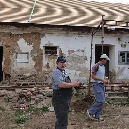 Oprava rodného domu Jana Kubiše