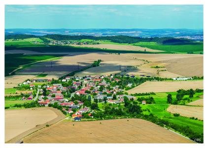 Letecké snímky obce 2016